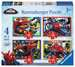 Disney Spider Man 4 v 1 2D Puzzle;Dětské puzzle - obrázek 1 - Ravensburger