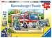 Polizei und Feuerwehr Puzzle;Kinderpuzzle - Bild 1 - Ravensburger