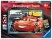 Puzzles 2x24 p - A l aventure avec Flash McQueen / Disney Cars 3 Puzzle;Puzzles enfants - Image 1 - Ravensburger
