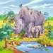Wild Animals              3x49p Puslespil;Puslespil for børn - Billede 4 - Ravensburger