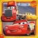 Disney Pixar Cars 3, 3 x 49pc Puslespil;Puslespil for børn - Billede 3 - Ravensburger