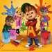 ALVIN I WIEWIÓRKI 3X49EL Puzzle;Puzzle dla dzieci - Zdjęcie 2 - Ravensburger