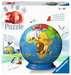 Puzzle 3D Kula: Dziecinny globus 72 elementy Puzzle 3D;Puzzle Kuliste - Zdjęcie 1 - Ravensburger