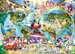 Disney s wereldkaart / Le monde de Disney Puzzle;Puzzles adultes - Image 2 - Ravensburger