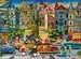 Malované domy 1500 dílků 2D Puzzle;Puzzle pro dospělé - obrázek 2 - Ravensburger