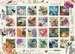 Vintage Postage Jigsaw Puzzles;Adult Puzzles - image 2 - Ravensburger
