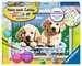 Süße Hundewelpen Malen und Basteln;Malen nach Zahlen - Bild 1 - Ravensburger