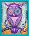 Dromende uil Hobby;Schilderen op nummer - image 2 - Ravensburger
