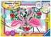Numéro d art - grand - Flamingos amoureux Loisirs créatifs;Peinture - Numéro d Art - Image 1 - Ravensburger