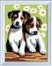 Numéro d art - mini - Deux petits chiots Loisirs créatifs;Peinture - Numéro d Art - Image 2 - Ravensburger