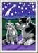 Numéro d art - petit - Chiot Husky et son compagnon le chaton Loisirs créatifs;Peinture - Numéro d'Art - Image 2 - Ravensburger