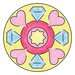 Midi Mandala-Designer 2 in 1 - Unicorn Hobby;Mandala-Designer® - image 4 - Ravensburger