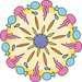 Disney Hledá se Dory malá Mandala Kreativita;Mandala Designer - image 4 - Ravensburger