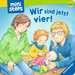 Wir sind jetzt vier! Kinderbücher;Babybücher und Pappbilderbücher - Bild 1 - Ravensburger