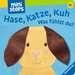 Hase, Katze, Kuh - Was fühlst du? Kinderbücher;Babybücher und Pappbilderbücher - Bild 1 - Ravensburger