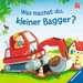 Was machst du, kleiner Bagger? Kinderbücher;Babybücher und Pappbilderbücher - Bild 1 - Ravensburger