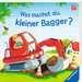 Was machst du, kleiner Bagger? Kinderbücher;Babybücher und Pappbilderbücher - Bild 2 - Ravensburger