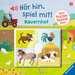 Hör hin, spiel mit! Mein Puzzle-Soundbuch: Bauernhof Baby und Kleinkind;Bücher - Bild 1 - Ravensburger