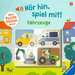 Hör hin, spiel mit! Mein Puzzle-Soundbuch: Fahrzeuge Baby und Kleinkind;Bücher - Bild 1 - Ravensburger