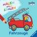 Malen nach Zahlen junior: Fahrzeuge Kinderbücher;Malbücher und Bastelbücher - Bild 1 - Ravensburger